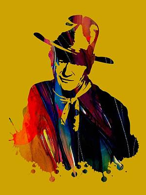 John Wayne Collection Art Print