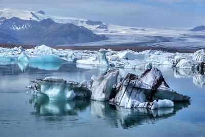 Iceberg Photograph - Jokulsarlon - Iceland by Joana Kruse