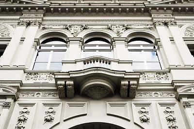 London Building Print by Tom Gowanlock