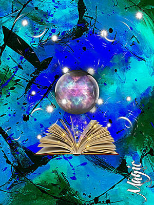 Mixed Media - Magic Collection by Marvin Blaine