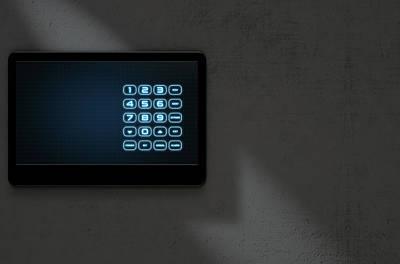Modern Interactive Home Security Art Print by Allan Swart