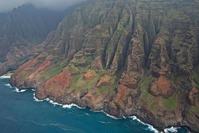 Photograph - Na Pali Coast Kauai by Steven Lapkin