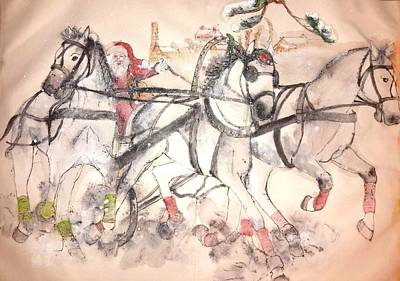 Of Clogs And Windmills Album  Art Print by Debbi Saccomanno Chan