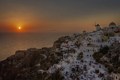 Mill Photograph - Oia - Santorini by Joana Kruse