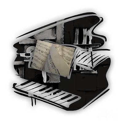 Piano Collection Art Print