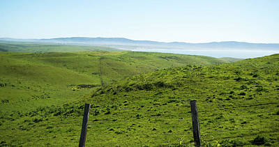 Photograph - Point Reyes National Seashore Landscapes In California by Alex Grichenko
