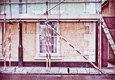 Rendering Photograph - Scaffolding by Tom Gowanlock