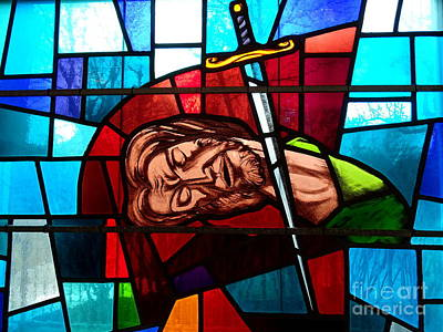 Photograph - Stained Glass Beauty # by Ed Weidman