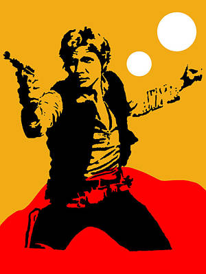 Movie Stars Mixed Media - Star Wars Han Solo Collection by Marvin Blaine