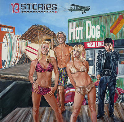 13 Stories Art Print by Bryan Bustard
