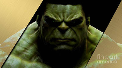 The Incredible Hulk Collection Art Print