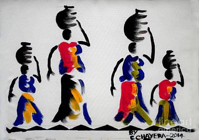 Unity Painting - Untitled by Chrisfold Chayera