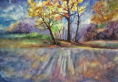 The Echo Of Autumn  Original by Gulina Oksana