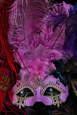 Hands Images Photograph - Venetian Carnaval Mask by David Smith
