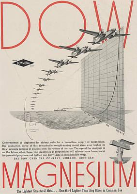 Transportation Drawing - World War II Advertisement by American School
