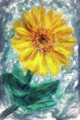 Balsam Root Blossom  Art Print
