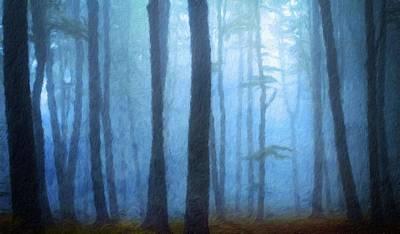 Bob Ross Painting - Landscape Pictures Nature by Margaret J Rocha