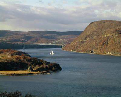Photograph - 131008 Bear Mtn Bridge Ny by Ed Cooper Photography