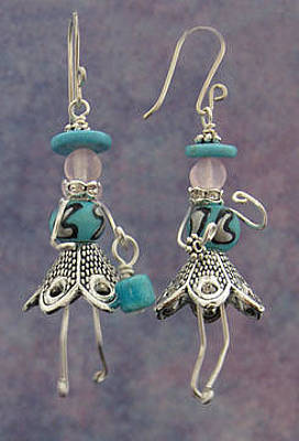 Jewelry - 1311 Turquoise Hattitudes by Dianne Brooks