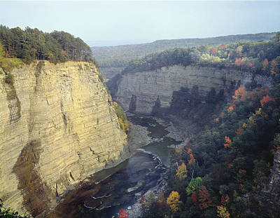 Photograph - 131614 Genesee River Gorge by Ed Cooper Photography
