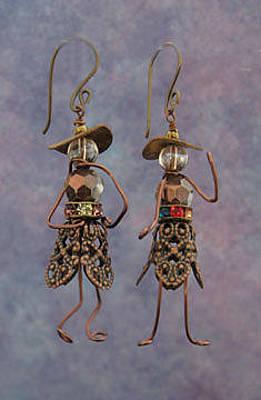 Jewelry - 1322 Filigree Hattitudes by Dianne Brooks