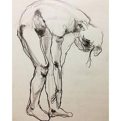 Sketch Photograph - Figure by Naoki Suzuka