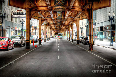 Photograph - 1331 Under The El by Steve Sturgill