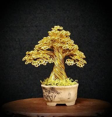 #134 Marufuji Wire Tree Sculpture Original by Ricks Tree Art