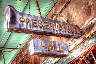 Photograph - 1340 Preservation Hall by Steve Sturgill