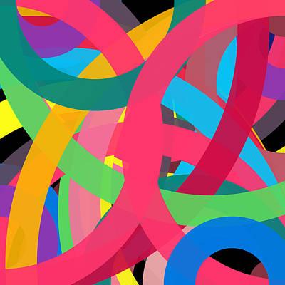 Drawing - 1346269 - Phi Word Circle by REVAD David Riley