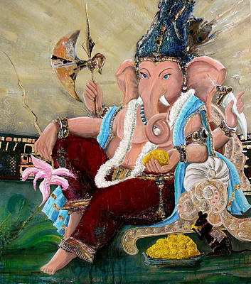 Painting - 135 by Devakrishna Marco Giollo
