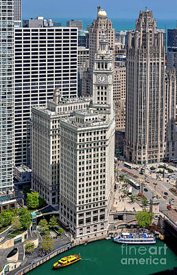Photograph - 1351 Wrigley Building by Steve Sturgill