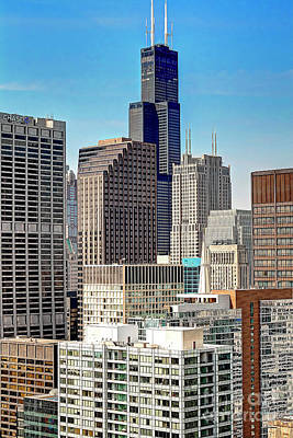 Photograph - 1354 Willis Aka Sears Tower by Steve Sturgill