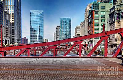 Photograph - 1356 Lasalle Street Bridge by Steve Sturgill
