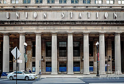 Photograph - 1357 Union Station by Steve Sturgill