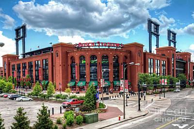 Photograph - 1360 Busch Stadium by Steve Sturgill