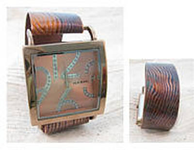 Jewelry - 1360 Woodgrain Watch by Dianne Brooks