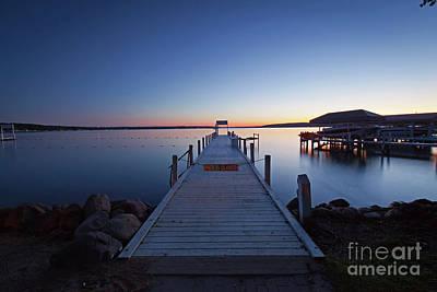 Photograph - 1362 Lake Geneva Pier by Steve Sturgill
