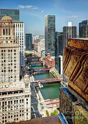 Photograph - 1364 Chicago Bridges by Steve Sturgill