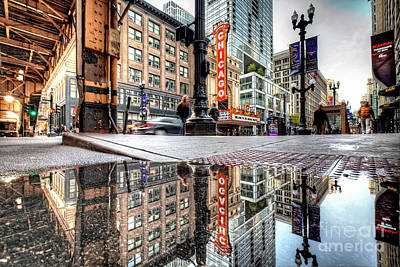 Photograph - 1367 City Reflections by Steve Sturgill