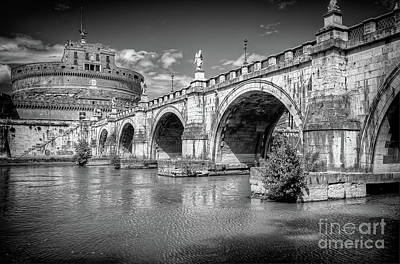 Photograph - 1370 Castel Sant'angelo by Steve Sturgill
