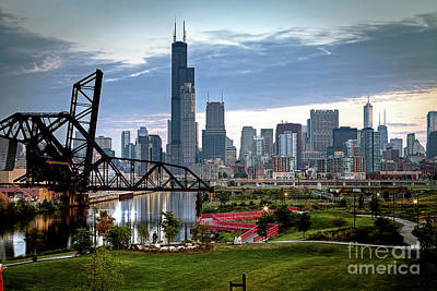 Photograph - 1375 18th Street Bridge View by Steve Sturgill