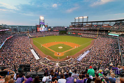 Photograph - 1376 Coors Field by Steve Sturgill