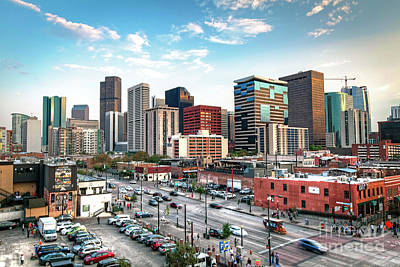 Photograph - 1377 Downtown Denver by Steve Sturgill