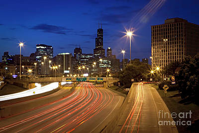 Photograph - 1379 Interstate 90/94 Overpass by Steve Sturgill