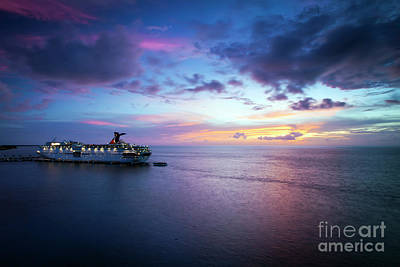 Photograph - 1381 Cozumel Sunset by Steve Sturgill