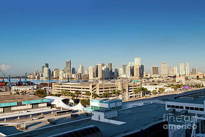 Photograph - 1383 Miami After The Storm by Steve Sturgill