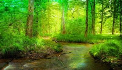 Sea Painting - Nature Oil Canvas Landscape by Margaret J Rocha
