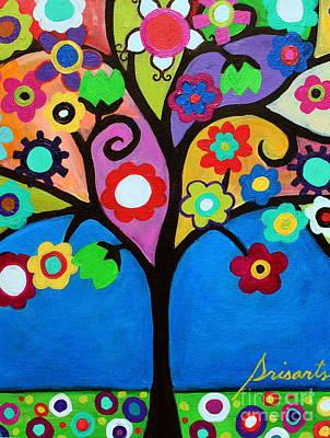 Painting - Tree Of Life by Pristine Cartera Turkus