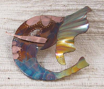 Jewelry - 1393 Elephant Ear Pendant by Dianne Brooks